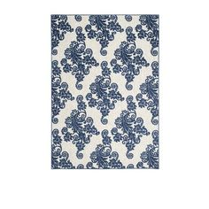 The intricately designed Madelyn Outdoor Rug endures heavy foot traffic and…