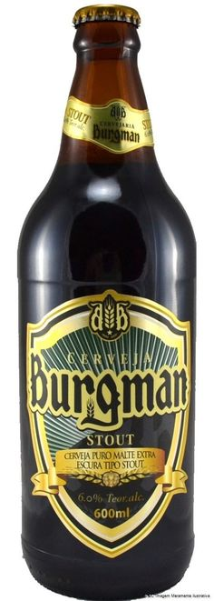 Burgman Stout 600ml