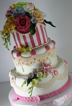 Truly Beautiful Wedding Cake