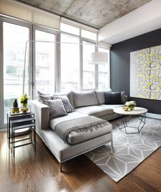 14 modern living room toronto best interior design 600x713, 25 Stunning Modern Living Room Design Ideas
