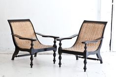 The Polohouse: British Colonial Style, Antique Planter chairs
