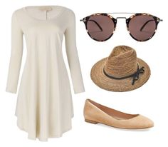 """""""#13"""" by nathczb on Polyvore featuring moda, Oliver Peoples e Diane Von Furstenberg"""