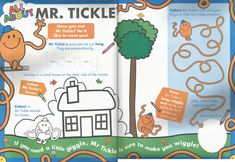 Mr. Men Little Miss Magazine - Beefeater Special Issue - Pages 7 and 8