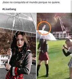 Memes Blackpink, Funny Kpop Memes, Meme Faces, Funny Faces, K Pop, Blackpink Funny, Lisa Blackpink Wallpaper, Blackpink Video, Black Pink Kpop