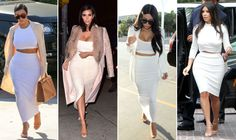 Definitive Proof That Kim Kardashian Only Wears 15 Outfits Ever  - HarpersBAZAAR.com