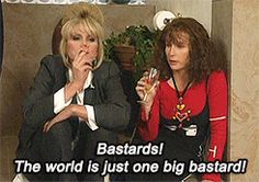 Absolutely Fabulous GIFs For Every Single Life Scenario Absolutely Fabulous Quotes, Patsy And Eddie, Welsh, Exercise For Six Pack, Jennifer Saunders, Joanna Lumley, Bad Barbie, Ab Fab, British Comedy