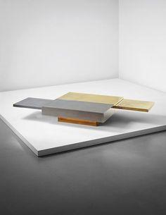 PHILLIPS : UK050115, Gabriella Crespi  GABRIELLA CRESPI Rare 'Dama' extendable coffee table , circa 1970