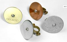 Brass, Steel, Copper, Zinc. Simple and lovely bike bells from Sogreni.