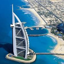 Burj al Arab, Dubai. Most luxurious hotel in the world.