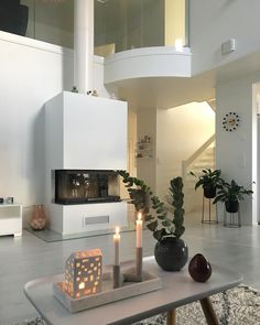 Home Decor Inspiration, Future, Chalets, Ideas, Fire Places, Future Tense