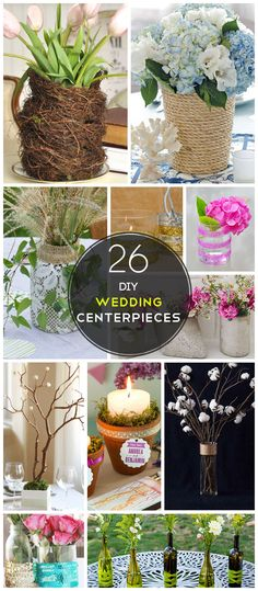 Click Pic for 26 DIY Wedding Centerpieces on a Budget | DIY Wedding Decorations for Outside