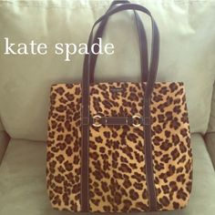 Counterfeit KATE SPADE LEOPARD PRINT TOTE