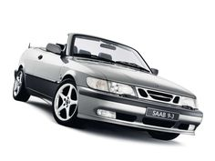 Saab 9-3 convertible. Oh what a beautiful girl! ;-)