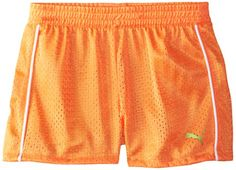 PUMA Girls Active Double Mesh Short *** Continue to the product at the image link.