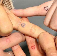 Tiny Tattoos For Girls, Cute Tiny Tattoos, Dainty Tattoos, Mini Tattoos, Tattoos For Women, Cool Tattoos, Tatoos, Small Bff Tattoos, Cute Tats