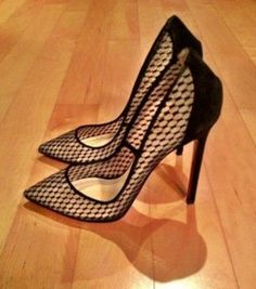 CHRISTIAN LOUBOUTIN Black Pigaresille Pigalle 100mm
