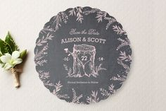 Woodland Romance Save the Date Cards by cadence pa... | Minted