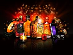 CROWN ROYAL Family of products ...  Recipes @ http://www.crownroyal.com/favorite-recipes/