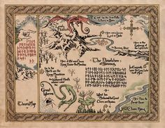 Middle Earth Map | Leather | Pinterest | Middle earth map, Middle ...