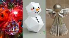 Τα χριστουγεννιάτικα διακοσμητικά που μπορείς να χρησιμοποιείς για την διακόσμηση του σπιτιού σου είναι αμέτρητα. Δες εδώ πως να τα φτιάξεις μόνη σου!