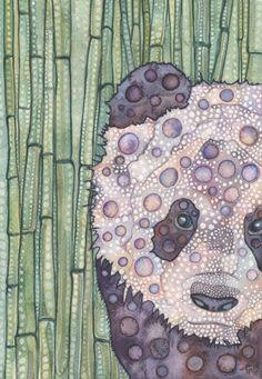 Las ilustraciones psicodélicas de Tamara Phillips