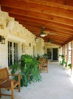 Nice sized front porch; cement floor
