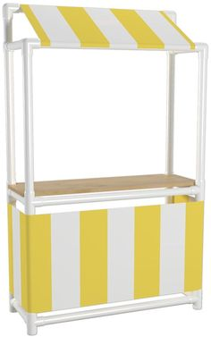 PVC Lemonade Stand | 25+ things to make with PVC Pipe