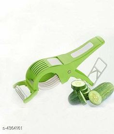 Graters Trendy Home Veg Cutter Material: Plastic  Size ( H X W X L ) : 21 cm X 6 cm X 6 cm Description: It Has 1 Piece Of 2 in 1 Veg Cutter Cum Peeler Country of Origin: India Sizes Available: Free Size   Catalog Rating: ★3.9 (344)  Catalog Name: Classy Trendy Home Utility Vol 10 CatalogID_626674 C135-SC1645 Code: 941-4364161-822