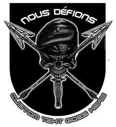 "Nous Defions ""We Defy"" Special Forces Shirt $17.00"
