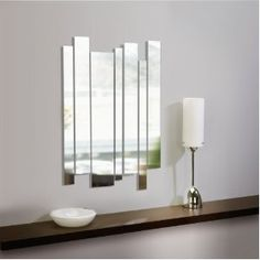 Chrome Mirror Wall Panels - Because the subject of mirrors has come to my attention it's been a while. This is to advise those of you who do not know the Mirror Panel Wall, Wall Mounted Mirror, Mirror Set, Decoration Design, Deco Design, Design Design, Modern Design, Stripped Wall, Mirror Inspiration