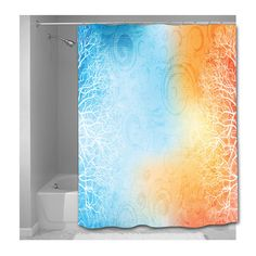 Abstract Nature with Tree Fragments Shower Curtain - Choice of Sizes by susanakame1 on Etsy