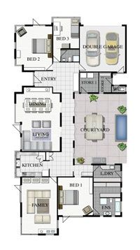2d floor plan for modern duplex 2 floor house area 800 sq m 20mx40m click on this link. Black Bedroom Furniture Sets. Home Design Ideas