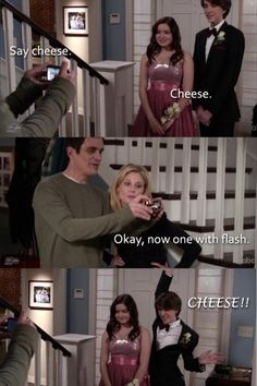 Modern Family.. I love this programme :)