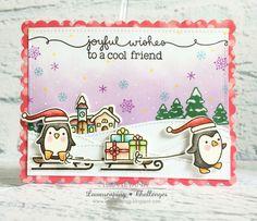 Joyful wishes #lawnfawn