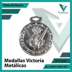 Entregamos sus Medallas en Medellin a Domicilio o Despachamos a Todo el Pais. Ref. M82PLABRI-MET Ø 6cms. Su Cotización en 20 Min. Sin Compromiso Victoria, 20 Min, Licence Plates, Engagement, Countries, Sports