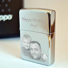 Zippo Lighter Photo engraved