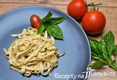 LCHF – keto těstoviny za 3 min na pánvi Low Carb Keto, Low Carb Recipes, Lchf Diet, Spaghetti, Paleo, Food And Drink, Yummy Food, Cooking, Ethnic Recipes
