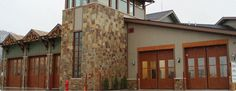 Lakota Canyon Ranch Fire Station   Four-Fold Doors #firestationdoors #four-folddoors