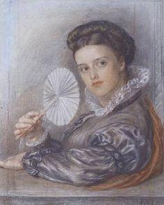 frederick james shield, artists bing images   Titre de l'image : Frederick James Shields - Head of a Lady