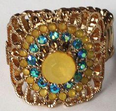 Style & Co Yellow and Aqua Faux Stone Stretch Ring Style & Co http://www.amazon.com/dp/B016C9C44C/ref=cm_sw_r_pi_dp_YdIxwb0Y3NX35