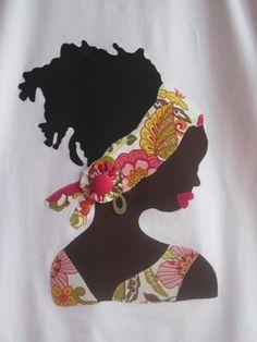 VÍSTELAS: Camiseta AFRICANA