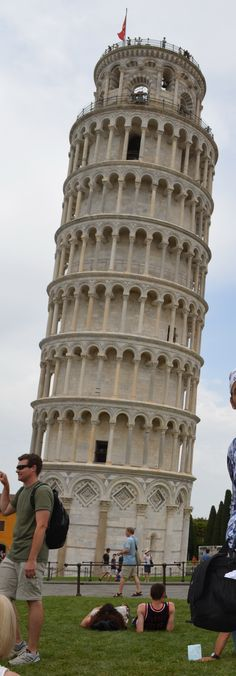 The leaning tower of Pisa, Italy Oh yay baby! I climbed to the top, it's too bad that you can't climb it anymore, so glad I did