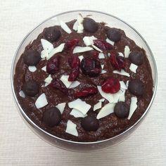 .@lisazou_ | ✨❤ recipe: healthy raw chocolate mousse ☺ ➡ Just blend 1 avocado, 1/2 frozen...