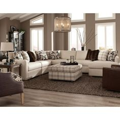 Craftmaster Living Room Sectional 7536 Sect   CraftMaster   Hiddenite, NC |  Nicole And Ryan | Pinterest | Living Room Sectional, Living Rooms And Room