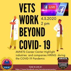 Amvets Career Centers Amvetscc Profile Pinterest