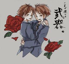 Hikaru Y Kaoru, Brothers Conflict, Ouran Host Club, Ouran Highschool, High School Host Club, Diabolik Lovers, Manga, Anime Art, Twins