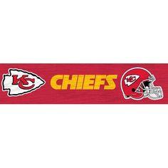 Fan Creations NFL Team Graphic Art Plaque Size: Large, NFL Team: Kansas City Chiefs