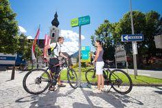 E-Bike Ladestation, Fahrrad, Energie tanken, eMobilität, Infrastruktur, Sport