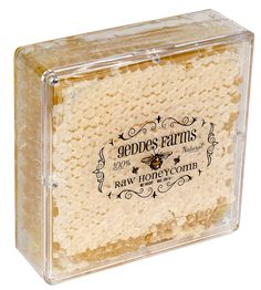 Raw Honey Comb cut directly from the hive. This is the purest honey you can buy.