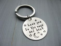 Sterling Silver Love You To The Moon and Back by ESDesigns14